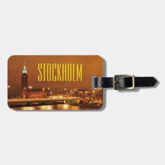 ストックホルム市役所、スウェーデン ラゲッジタグ