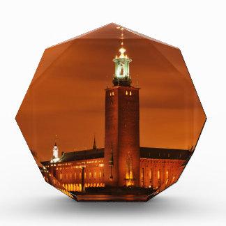 ストックホルム市役所、スウェーデン 表彰盾