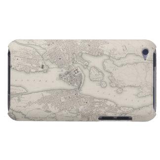 ストックホルム、スウェーデンの旧式な地図 Case-Mate iPod TOUCH ケース
