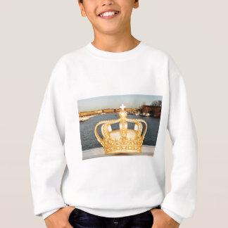 ストックホルム、スウェーデンの金王冠橋の詳細 スウェットシャツ