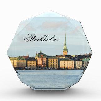ストックホルム、スウェーデンのGamla Stan 表彰盾