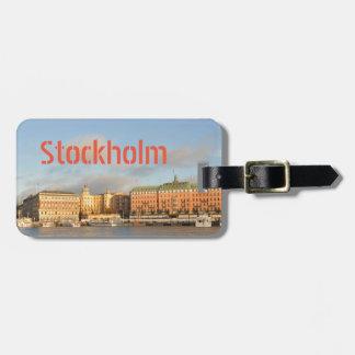ストックホルム、スウェーデン ラゲッジタグ
