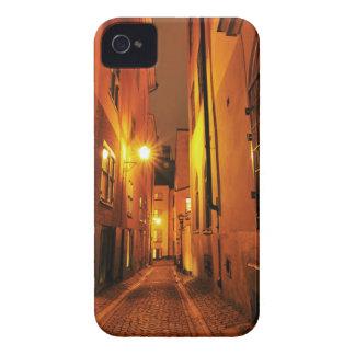 ストックホルム、夜のスウェーデンのGamla Stanの通り Case-Mate iPhone 4 ケース