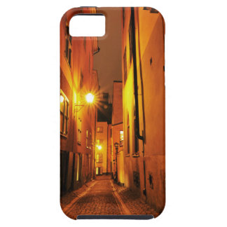 ストックホルム、夜のスウェーデンのGamla Stanの通り iPhone SE/5/5s ケース