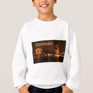 ストックホルム、夜のスウェーデン スウェットシャツ