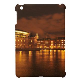 ストックホルム、夜のスウェーデン iPad MINIケース