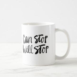 ストップストップことができます コーヒーマグカップ