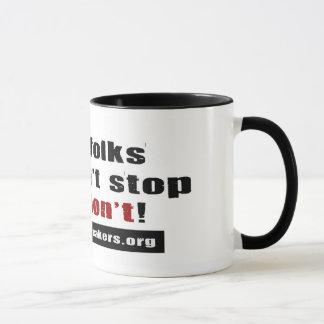ストップ! マグカップ