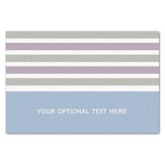 ストライプなパターンカスタムのティッシュペーパー 薄葉紙