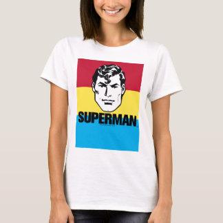 ストライプな男の子-スーパーマン Tシャツ