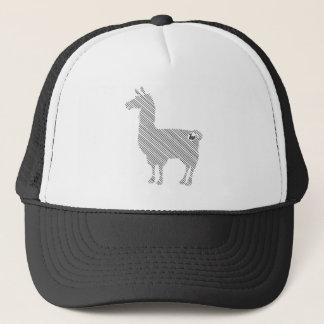 ストライプのなラマの帽子 キャップ
