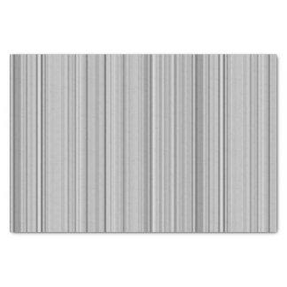 ストライプのな縦ストライプの白い灰色の灰色 薄葉紙