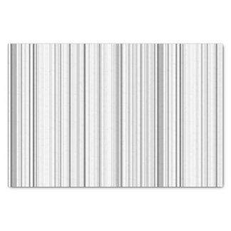 ストライプのな縦ストライプの白い灰色の薄い灰色 薄葉紙