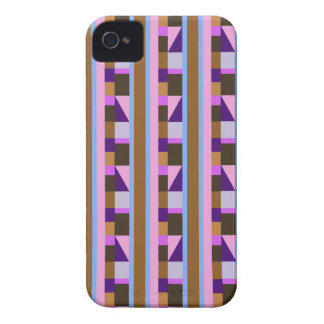 ストライプ、長方形、タイル及び三角形 Case-Mate iPhone 4 ケース