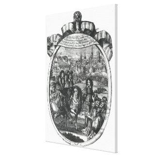 ストラスブールの王ルイ14世の記入項目 キャンバスプリント