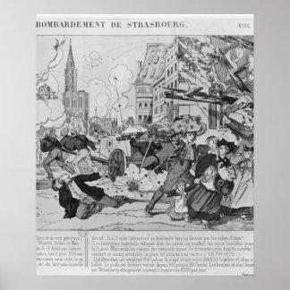 ストラスブールの衝突そして包囲 ポスター