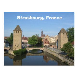 ストラスブール、フランス ポストカード