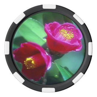 ストリップの端のポーカー用のチップ ポーカーチップ