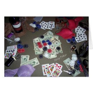ストリップ・ポーカー カード