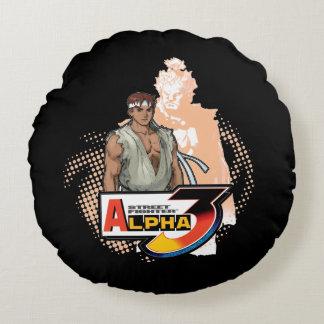 ストリート・ファイターのアルファ3 Ryu及びAkuma 2 ラウンドクッション