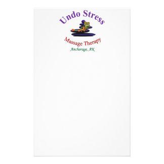 ストレスのアラスカのロゴを取消して下さい 便箋
