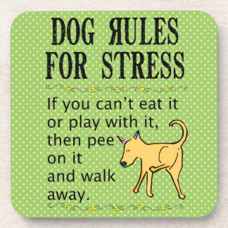 Dog Rules for Dealing with Stress