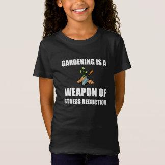 ストレス減少の園芸の武器 Tシャツ