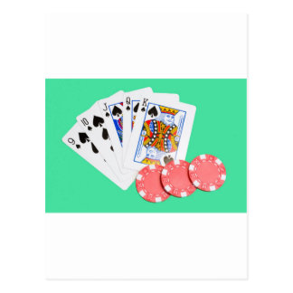 ストレート・フラッシュ ポストカード