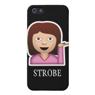 ストロボのiPhoneの場合 iPhone SE/5/5sケース