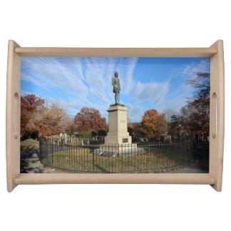 ストーンウォールジャクソン記念碑-写真 トレー
