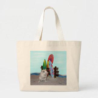 スナネズミのビーチのバッグ ラージトートバッグ