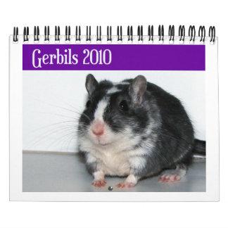 スナネズミはカレンダーに記録します(重版) カレンダー