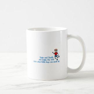 スニップ及びかたつむり コーヒーマグカップ
