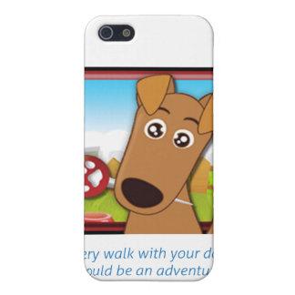 スニファのiPhoneカバーおよび印アイコンおよび句 iPhone 5 ケース