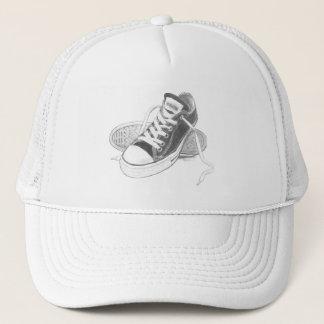 スニーカーのトラック運転手の帽子の芸術 キャップ
