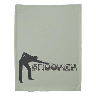 スヌーカーのモダンなフォントを遊ぶこと + あなたのアイディア 掛け布団カバー