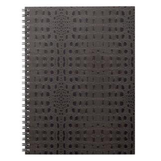 スネークスキンの革ノート3a - ノートブック