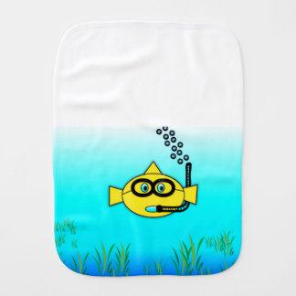 スノーケルの魚 バープクロス