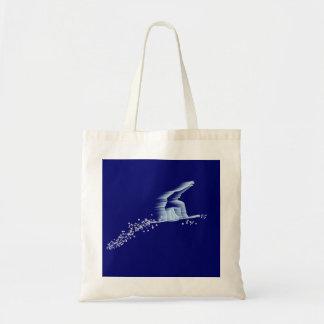 スノーボーダーのバッグ トートバッグ