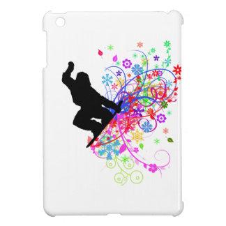 スノーボーダーの小型ipadの場合 iPad miniカバー