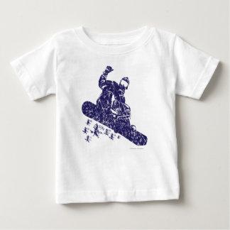 スノーボーダー ベビーTシャツ