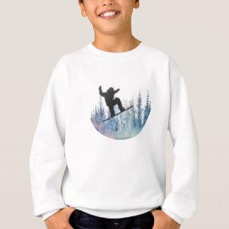 スノーボーダー: 空気 スウェットシャツ