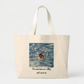 スノーボードのバッグ ラージトートバッグ