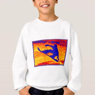 スノーボードの夢 スウェットシャツ