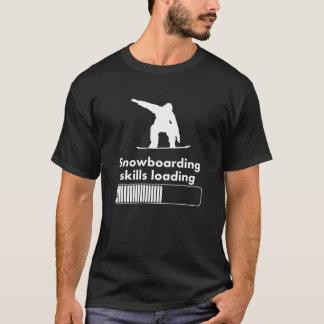 スノーボードの技術の負荷 Tシャツ