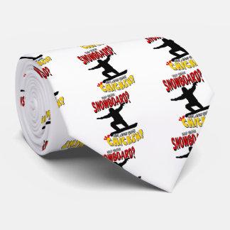 スノーボードの鶏1 オリジナルネクタイ