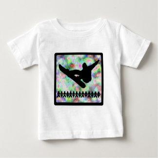 スノーボードドーム ベビーTシャツ