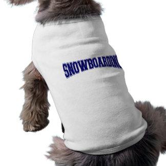 スノーボード大学スタイル ペット服