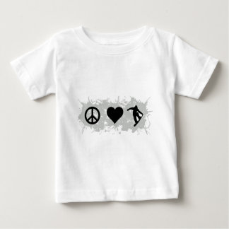 スノーボード3 ベビーTシャツ