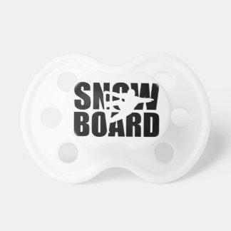 スノーボード おしゃぶり